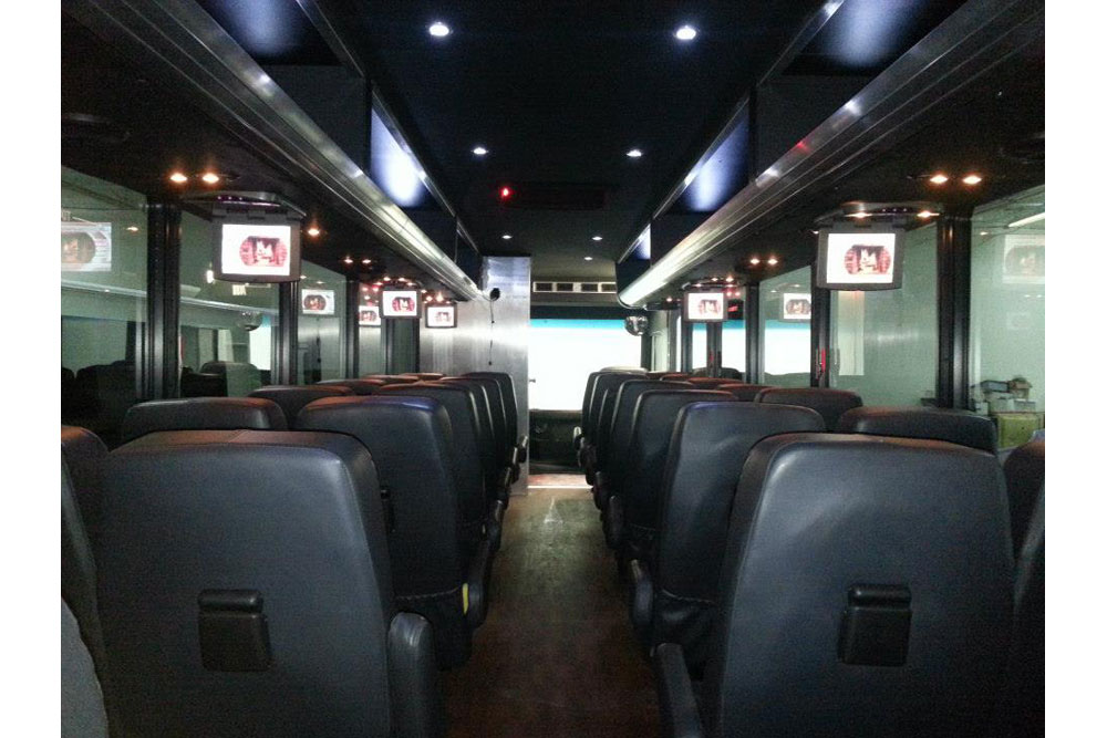 35 passenger executive shuttle bus
