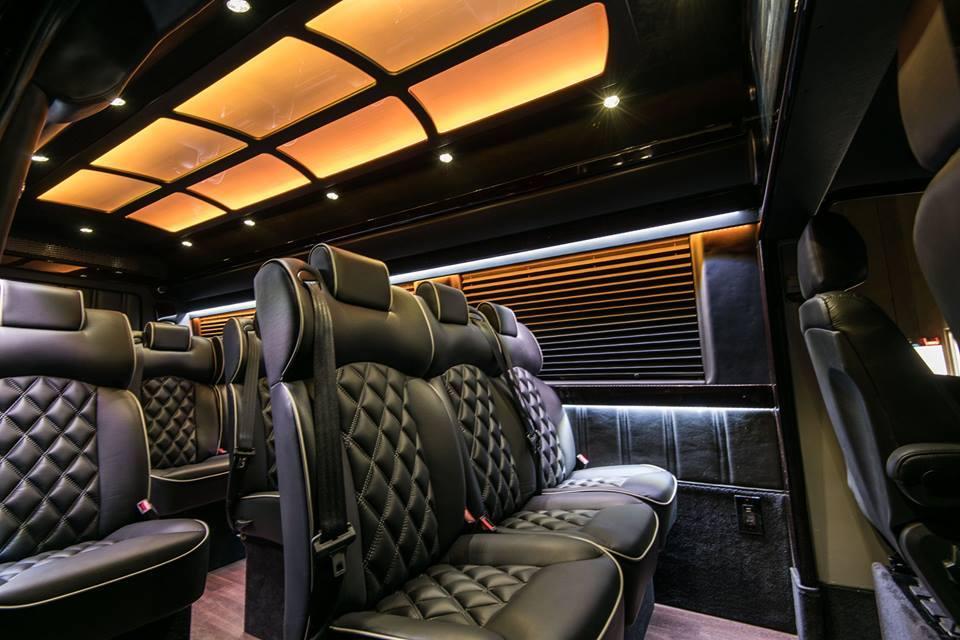 Our fleet jed transportation - Mercedes sprinter interior light ...